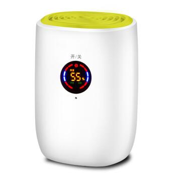 ミニ項除湿器家庭用除湿機液晶乾燥機地下室家庭用除湿機の2色をランダに配置します。