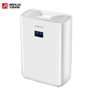 艾普莱斯AIRPLTS除湿機家庭用地下室静音輸送リビグミ除湿器AP 01-906 EA白