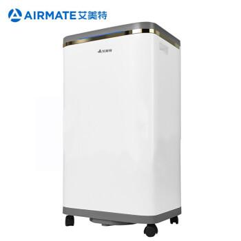 艾美特(Airmate)除湿機除湿機60リットル/日適用面積25-100平方メートル工業除湿機家庭用地下室ストレーダDM 6019